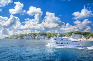 Schiffstour zu den Kreidefelsen auf Rügen