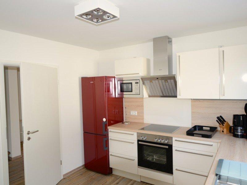 Wohnküche im Ferienhaus mit allem Drum und Dran