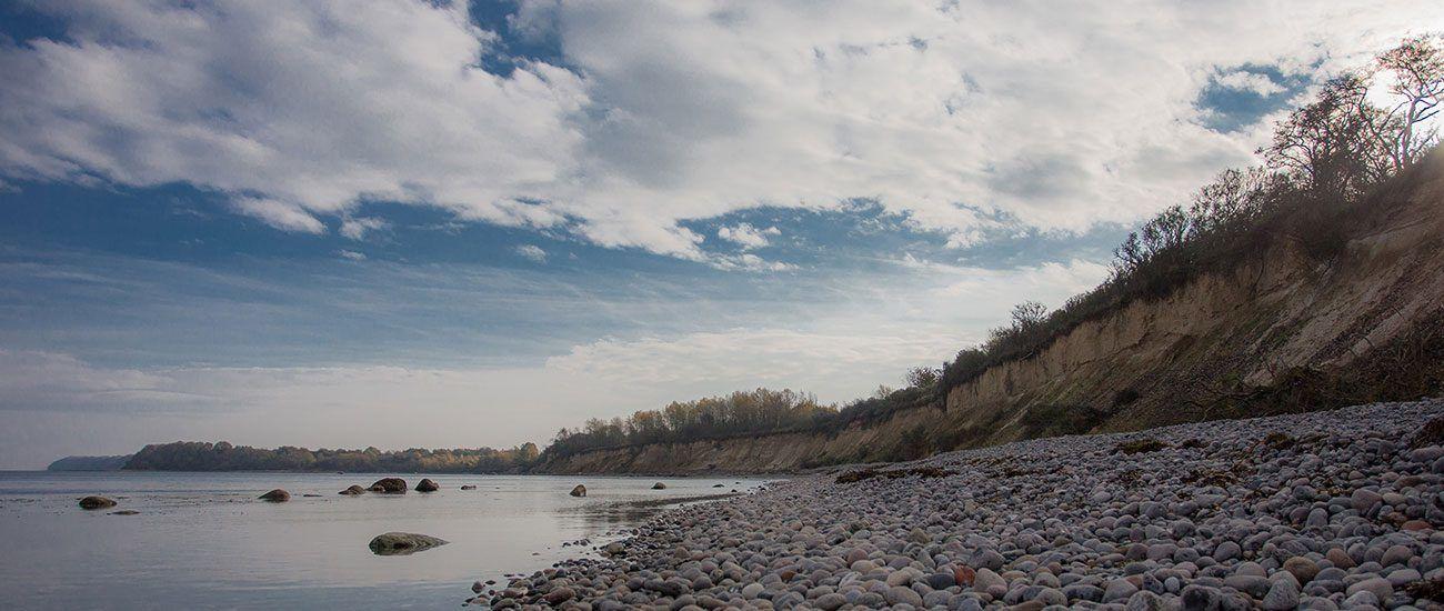 Steilküste von Glowe - nur wenige hundert Meter vom Haus entfernt