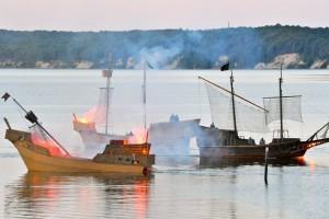 Seeschlacht in Ralswiek