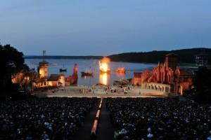 Bühne der Störtebeker Festspiele in Ralswiek